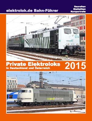 Private Elektroloks in Deutschland und Österreich 2015
