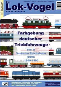 Farbgebung deutscher Triebfahrzeuge (3)