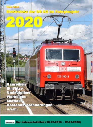 Elektroloks der DB AG im Fahrplanjahr 2020